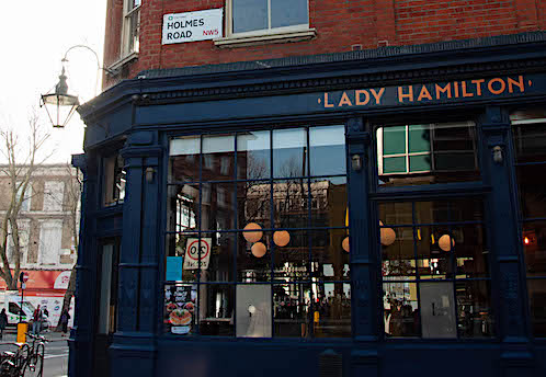 Yuu Kitchen Kentish Town Lady Hamilton Pub NW5